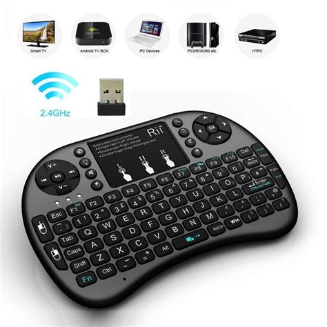 Keyboard Mini keyboard mouse bundles rii mini i8 2 4ghz wireless