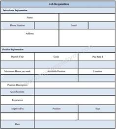 personnel requisition form template requisition form sle from and template