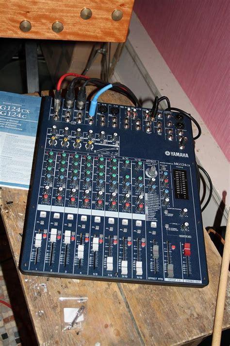 Audio Mixer Yamaha Mg124cx photo yamaha mg124cx yamaha mg124cx 47658 57581