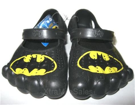 silly batman toddler slip on shoes black size 3 bat