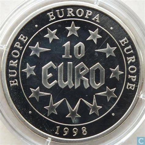 Types Of Medals Europa 10 Euro 1998 Fantasy Coins Catawiki