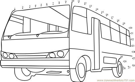 printable school bus dot to dot starline school bus dot to dot printable worksheet