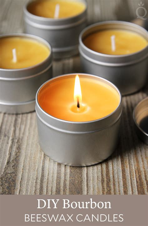 diy candles diy bourbon beeswax candles soap