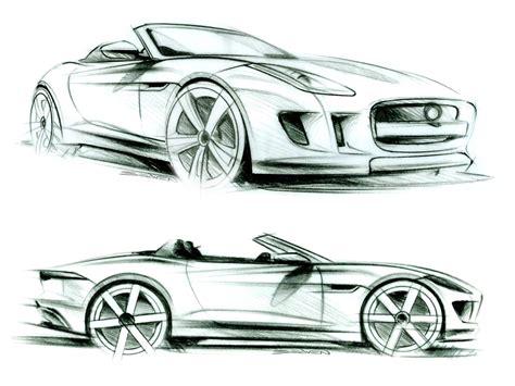 Car Design Types jaguar f type design sketches car design