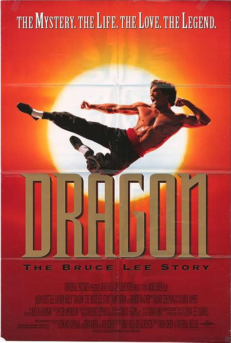bruce lee biography full movie dragon the bruce lee story movie posters at movie poster