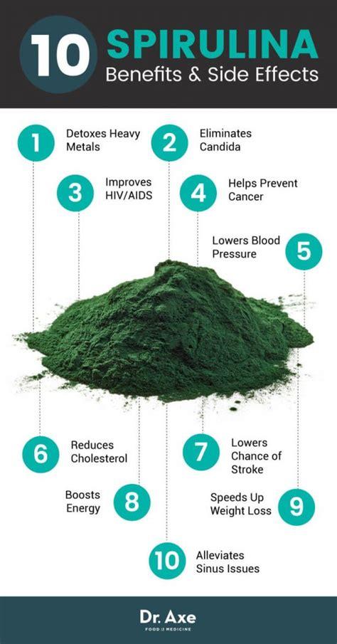 Spirulina Detox Benefits by Spirulina Health Benefits Side Effects The