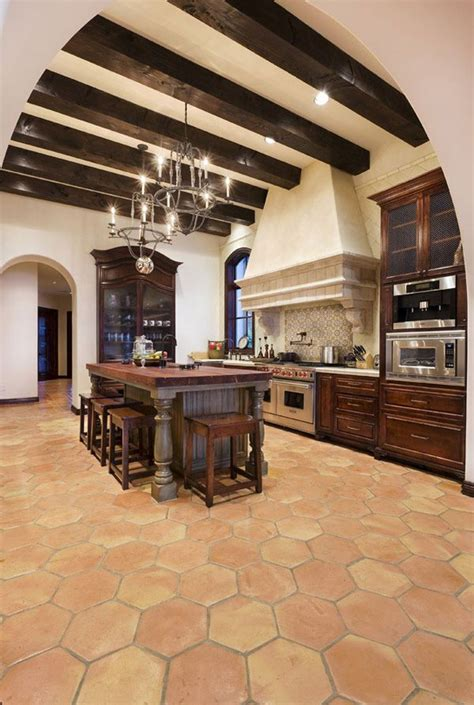 spanish inspired dream home on lake conroe 25 best ideas about spanish style kitchens on pinterest