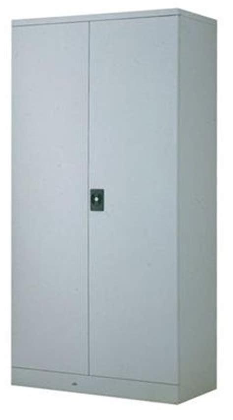 Full height steel cupboard with steel swing door C118