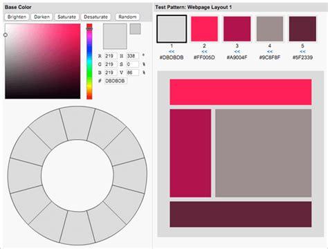 color scheme creator visual color scheme creator injoy web design