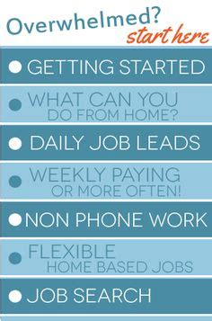Online Work From Home Jobs That Pay Weekly - earn money online on pinterest passive income