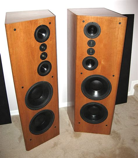 high  home theater stereo front main loudspeakers