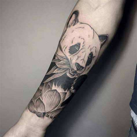 pin oso panda tatuajes de osos tattoos tattoo designs on