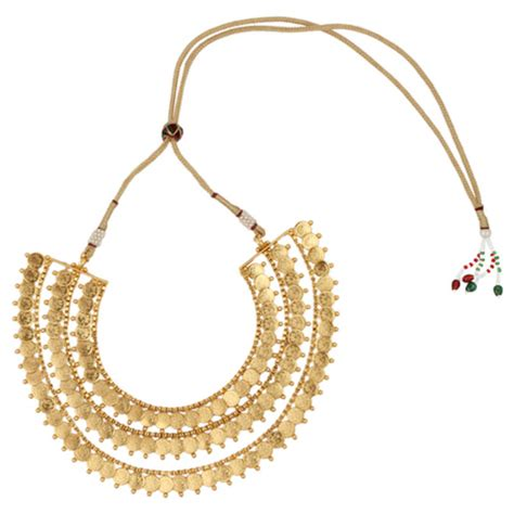 buy crystal jewelry sets onlinelaxmi coin setsearrings buy ginni lakshmi coin 3 layer south indian necklace set