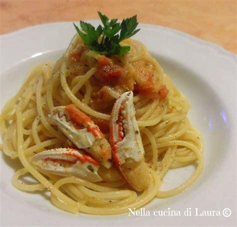 cucinare granchio surgelato ricerca ricette con spaghetti al sugo di granchio