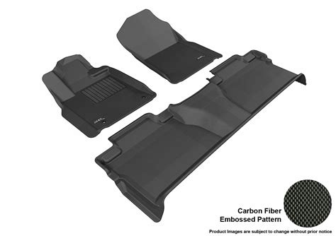 maxpider 3d rubber molded floor mat for toyota tundra 14
