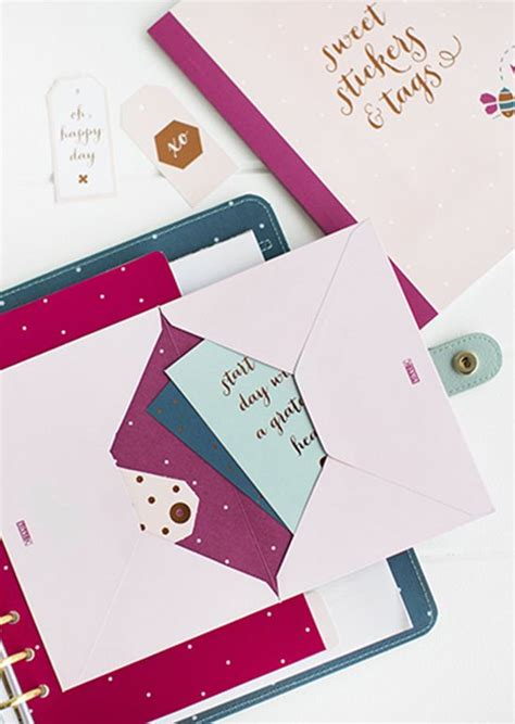 How To Make A Folder Out Of Paper - 1000 images about kikki k planner on gel