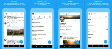 twiter mobile is testing a version of its lite