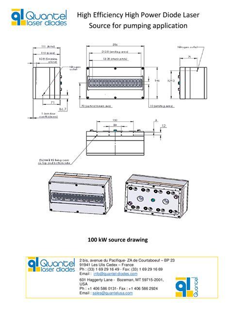 quantel laser diodes 940nm 100kw pulsed diode laser stack quantel laser diodes