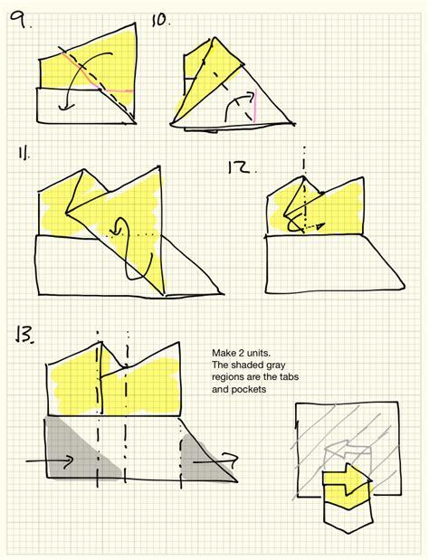 Origami Illusions - origami arrow illusion