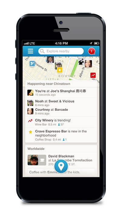 ios scrollview  foursquare  maps list stack