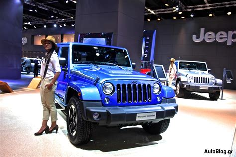 jeep polar edition έκθεση φρανκφούρτης 2013 jeep wrangler polar edition