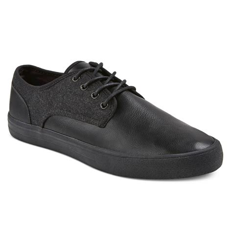 mossimo sneakers s adam lace up sneakers black mossimo supply co ebay