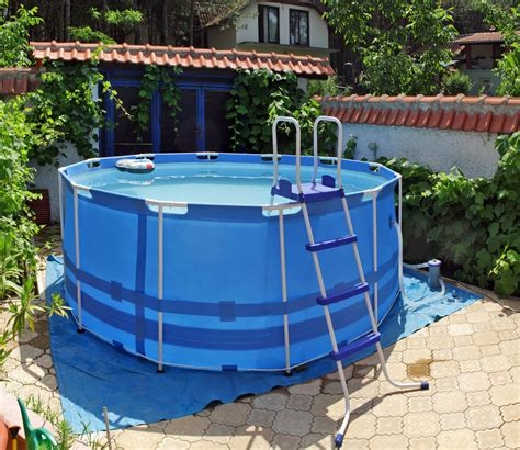 pros and cons of temporary above ground swimming pools