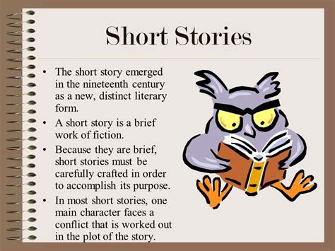 working with short stories short story