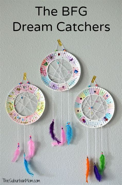 easy disney crafts for the bfg paper plate catchers craft the suburban