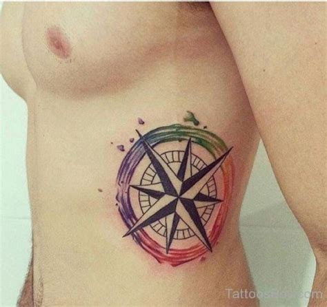 compass tattoo on ribs compass tattoos tattoo designs tattoo pictures page 5