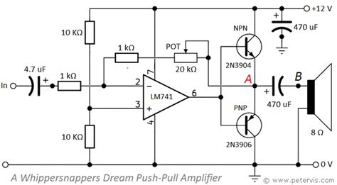 bjt transistor lifier design push pull lifier using bjt transistors