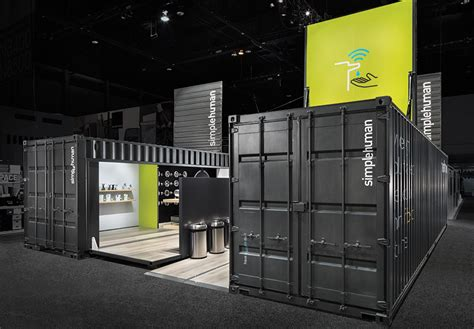 booth design architecture the container store container store and minimalist design
