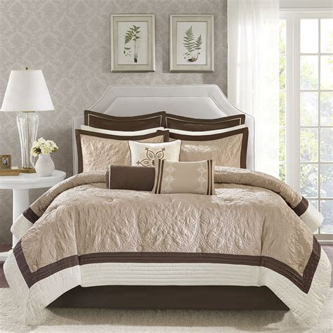 madison park juliana comforter set madison park juliana 9 piece charmeuse comforter set ebay