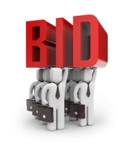 bid on eliminate estimate and bid from your vocabulary