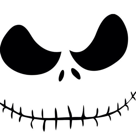 skeleton pumpkin templates best 25 skellington ideas on nightmare