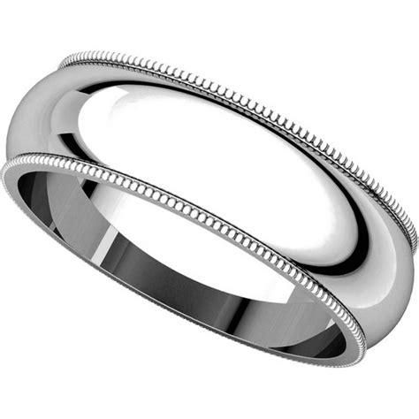Wedding Bands Comfort Fit by T123881we 18k Comfort Fit Milgrain 6mm Wedding Band