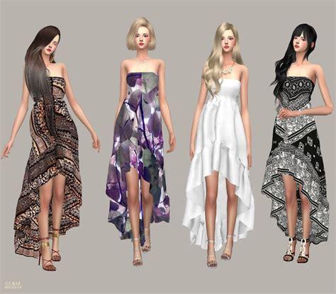 Dress Cc cc finds goddess dress by marigold ts4 clothing