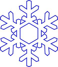 snowflake outline template simple snowflake coloring pages coloring home