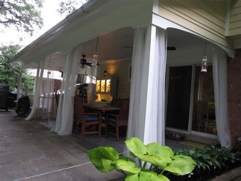 deck curtain ideas inexpensive patio curtain ideas thenest