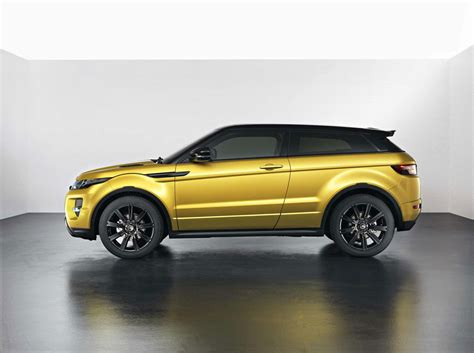 land rover yellow evoque sicilian yellow limited edition by range rover