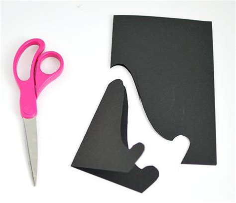 How To Make A Paper Easel - paper easel for displaying for holding up recipe cards for