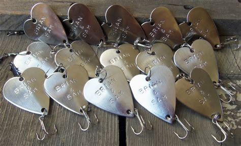 Wedding Favors Groomsmen by Wedding Favors For Groomsmen Personalized Fishing Lure