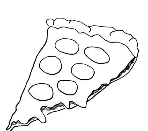 pizza coloring pages preschool coloring pages pizza heart disease of junk food pizza