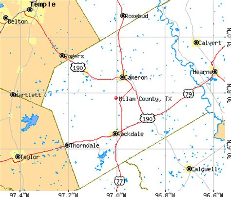 milam county texas map milam county texas detailed profile houses real estate cost of living wages work