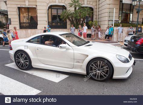 Sl65 Amg V12 by White Mercedes Sl65 Amg Black Series V12 Biturbo In Monte