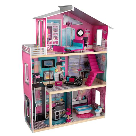 luxury dolls house furniture imaginarium modern luxury doll house new ebay