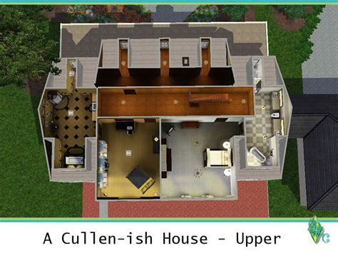 twilight cullen house floor plan mod the sims a cullen ish house