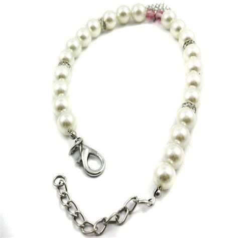 necklace for dogs alfie couture designer pet jewelry pearl necklace