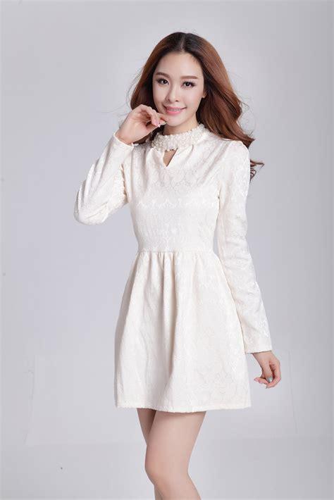 Dress Cantik Dress Murah Mini Dress Dress Cansi mini dress korea cantik terbaru model terbaru jual murah import kerja