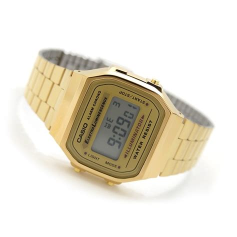 casio dorato casio collection a159wgea 5ef orologio da polso unisex